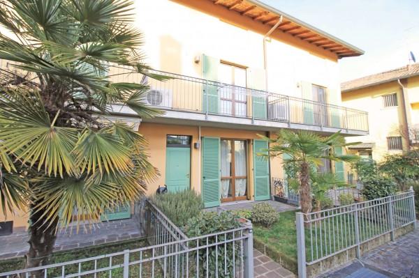Villetta a schiera in vendita a Cassano d'Adda, Con giardino, 125 mq - Foto 3