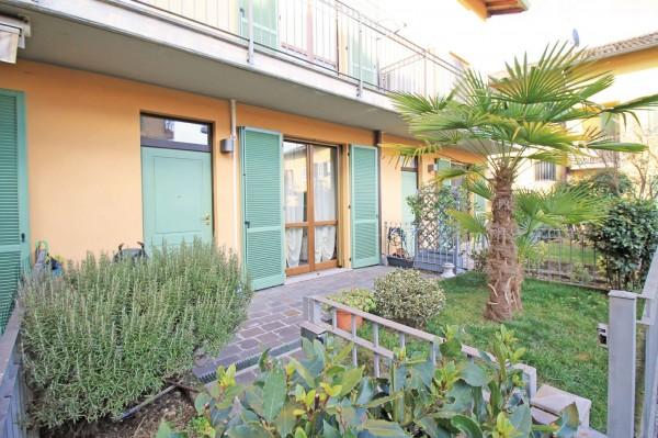 Villetta a schiera in vendita a Cassano d'Adda, Con giardino, 125 mq - Foto 4