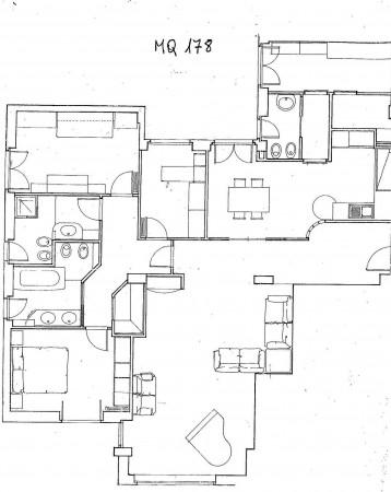 Appartamento in vendita a Cagliari, Con giardino, 178 mq - Foto 2
