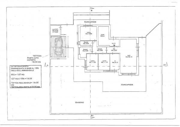 Appartamento in vendita a Roma, Statuario, Con giardino, 148 mq - Foto 2