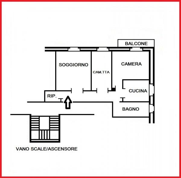 Appartamento in vendita a Roma, Montesacro, 85 mq - Foto 2