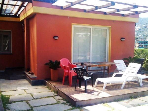 Villa in vendita a Recco, Centro - Stazione, Con giardino, 270 mq - Foto 19