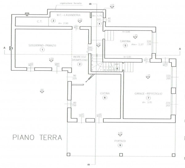 Casa indipendente in vendita a Padova, Con giardino, 220 mq - Foto 9