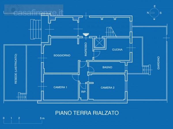 Appartamento in vendita a Firenze, Con giardino, 93 mq - Foto 15