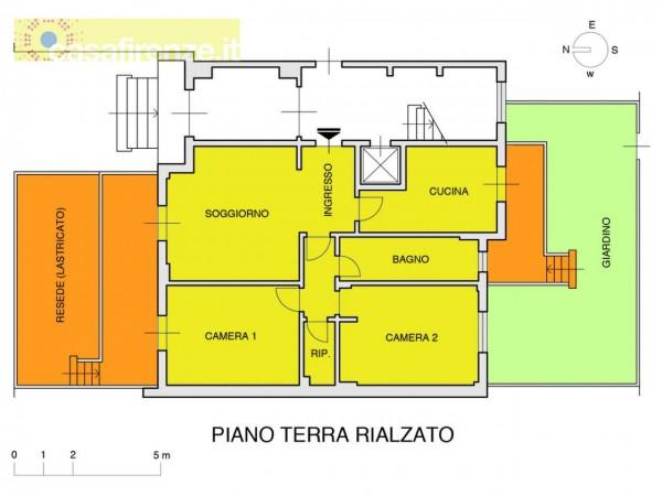 Appartamento in vendita a Firenze, Con giardino, 93 mq - Foto 7
