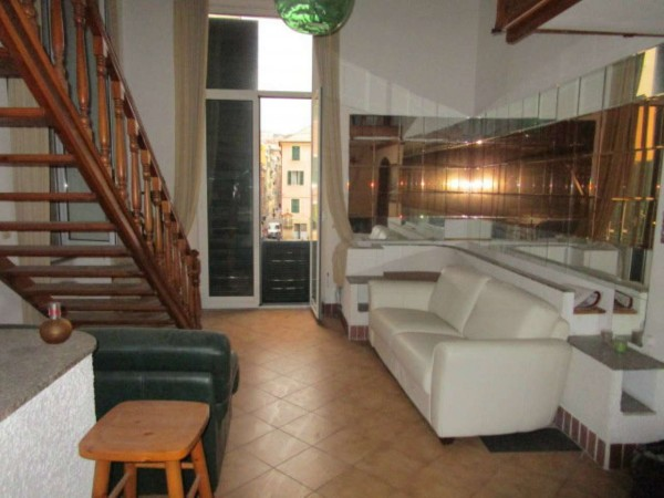 Appartamento in vendita a Genova, Centro Sesti Ponente, 110 mq - Foto 1