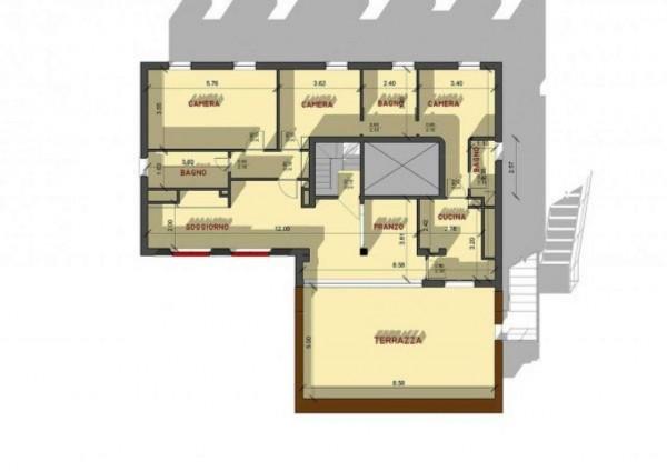 Appartamento in vendita a Santa Margherita Ligure, Con giardino, 120 mq - Foto 4