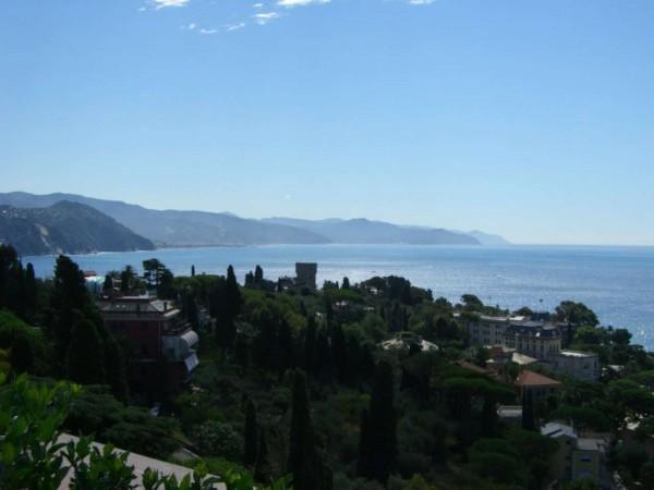 Appartamento in vendita a Santa Margherita Ligure, Con giardino, 120 mq