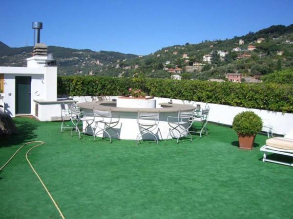 Appartamento in vendita a Santa Margherita Ligure, Con giardino, 120 mq - Foto 19