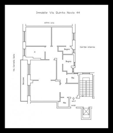 Appartamento in vendita a Roma, Tuscolano Quadraro, 115 mq - Foto 2