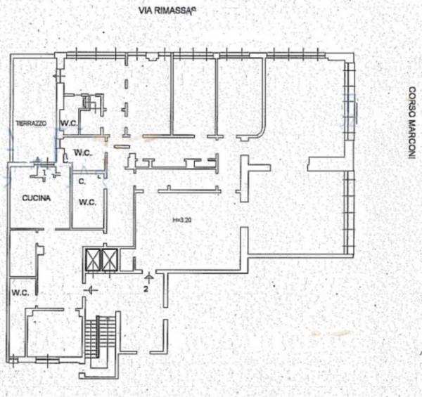 Appartamento in vendita a Genova, Foce, Con giardino, 374 mq - Foto 2