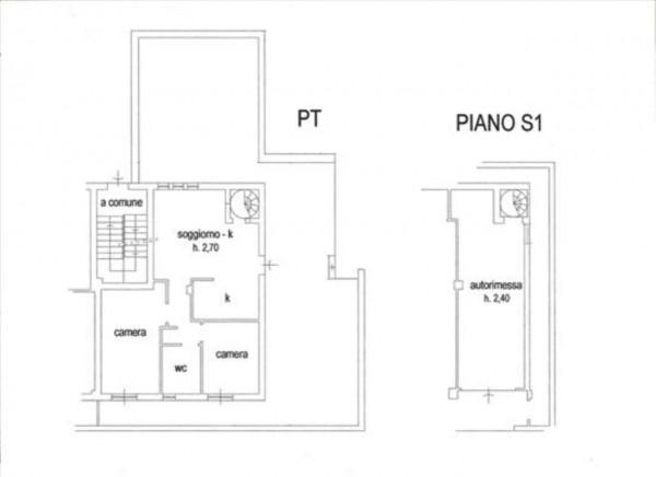 Appartamento in vendita a Monteriggioni, Arredato, con giardino, 78 mq - Foto 15