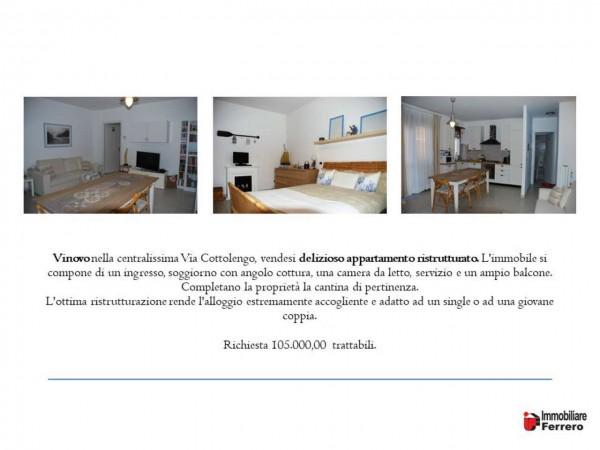 Appartamento in vendita a Vinovo, Centrale, Con giardino, 60 mq - Foto 2
