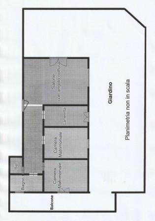 Appartamento in vendita a Roma, Montespaccato, Con giardino, 105 mq - Foto 2