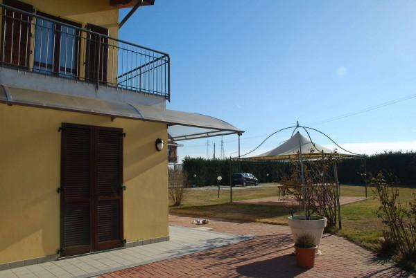 Villetta a schiera in vendita a Vinovo, Periferica, Con giardino, 127 mq - Foto 7