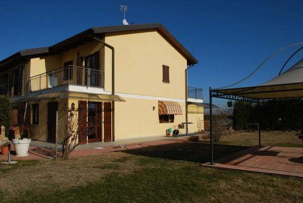 Villetta a schiera in vendita a Vinovo, Periferica, Con giardino, 127 mq - Foto 8