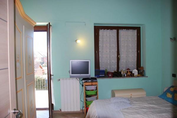 Villetta a schiera in vendita a Vinovo, Periferica, Con giardino, 127 mq - Foto 13