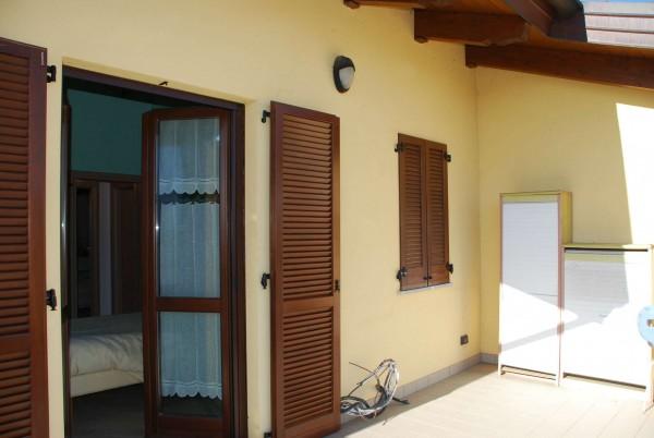 Villetta a schiera in vendita a Vinovo, Periferica, Con giardino, 127 mq - Foto 9