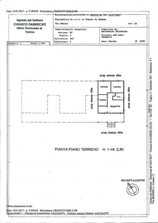 Villa in vendita a Almese, Precollina, Con giardino, 270 mq - Foto 4