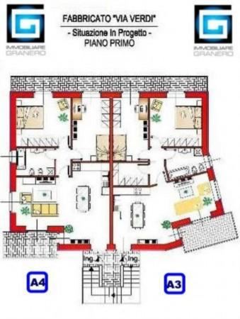 Appartamento in vendita a Alpignano, Musicisti, 90 mq - Foto 7