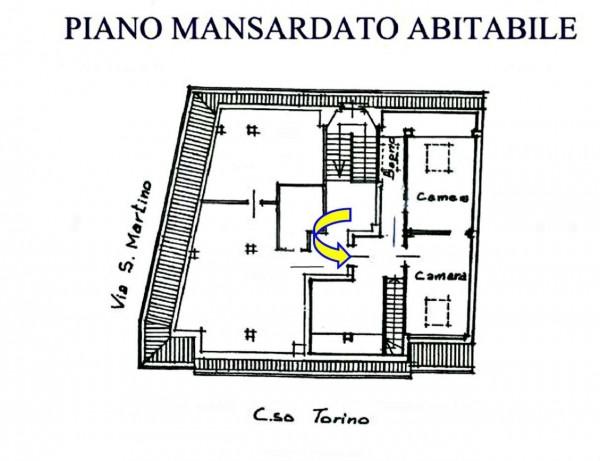 Appartamento in vendita a Alpignano, Centro, 140 mq - Foto 4