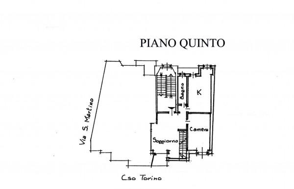 Appartamento in vendita a Alpignano, Centro, 140 mq - Foto 3