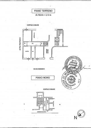 Appartamento in vendita a Milano, Affori Fn, Con giardino, 65 mq - Foto 2