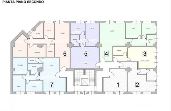 Appartamento in vendita a Milano, Crescenzago, 87 mq - Foto 2