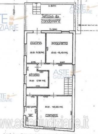 Appartamento in vendita a Pistoia, Centro, Con giardino, 102 mq - Foto 3