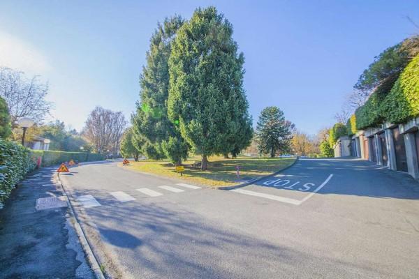Villetta a schiera in vendita a Bregano, Arredato, con giardino, 115 mq - Foto 29