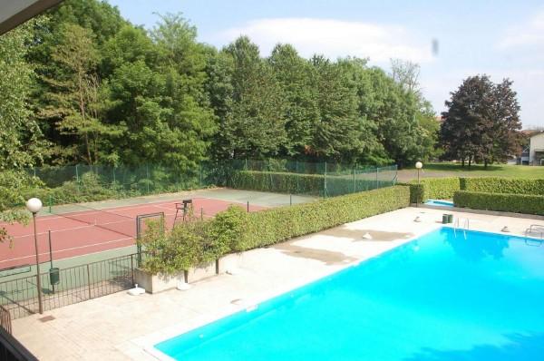Villetta a schiera in vendita a Bregano, Arredato, con giardino, 115 mq - Foto 24
