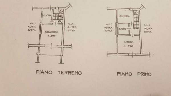 Villetta a schiera in vendita a Bregano, Arredato, con giardino, 115 mq - Foto 4