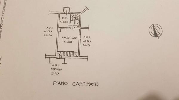 Villetta a schiera in vendita a Bregano, Arredato, con giardino, 115 mq - Foto 3