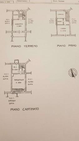 Villetta a schiera in vendita a Bregano, Arredato, con giardino, 115 mq - Foto 2