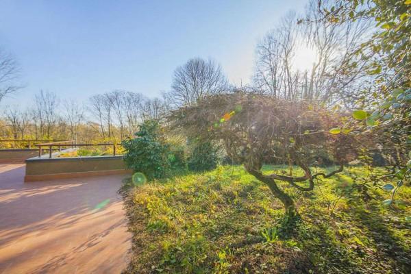 Villetta a schiera in vendita a Bregano, Arredato, con giardino, 115 mq - Foto 19