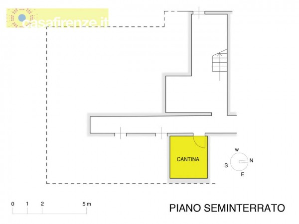 Appartamento in vendita a Firenze, Con giardino, 90 mq - Foto 5