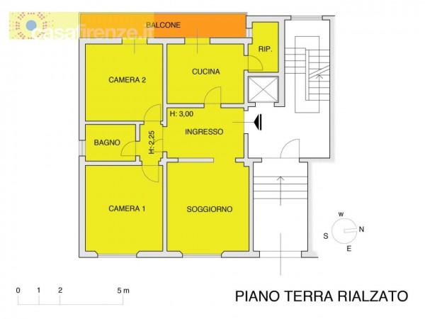 Appartamento in vendita a Firenze, Con giardino, 90 mq - Foto 7