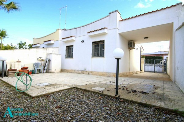Villa in vendita a Leporano, Residenziale, Arredato, con giardino, 55 mq - Foto 14