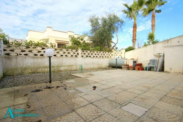 Villa in vendita a Leporano, Residenziale, Arredato, con giardino, 55 mq - Foto 12