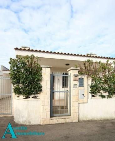 Villa in vendita a Leporano, Residenziale, Arredato, con giardino, 55 mq - Foto 3
