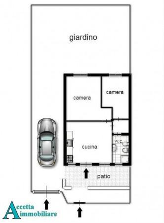 Villa in vendita a Leporano, Residenziale, Arredato, con giardino, 55 mq - Foto 2