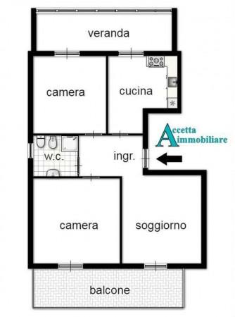 Appartamento in vendita a Taranto, Semicentrale, 85 mq - Foto 2