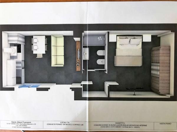 Appartamento in vendita a Torino, San Paolo, 40 mq