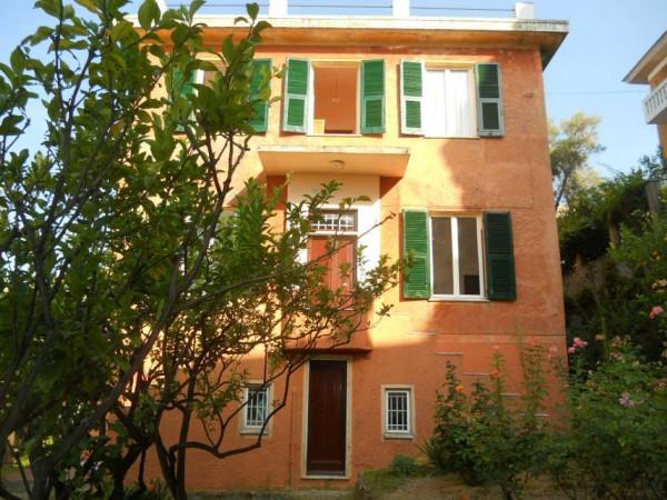 Villa in vendita a Genova, S.ilario, Con giardino, 300 mq - Foto 12