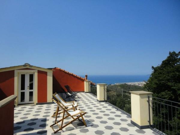 Rustico/Casale in vendita a Lavagna, S.giulia, Arredato, con giardino, 170 mq - Foto 1
