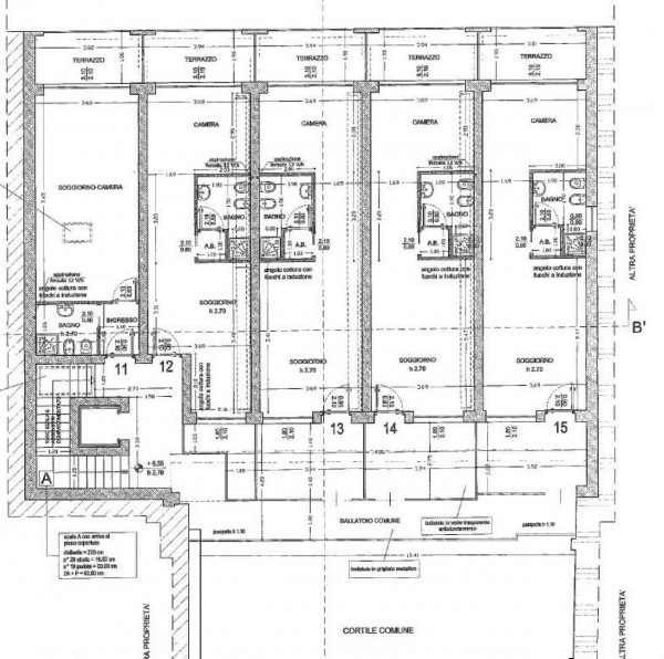Appartamento in vendita a Milano, Viale Tibaldi, Con giardino, 55 mq - Foto 7