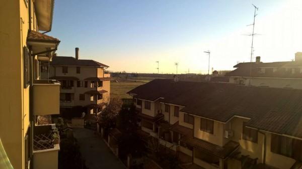 Appartamento in affitto a Bareggio, Semi-centrale, Arredato, con giardino, 65 mq