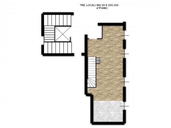 Appartamento in vendita a Milano, Precotto, Con giardino, 108 mq - Foto 10
