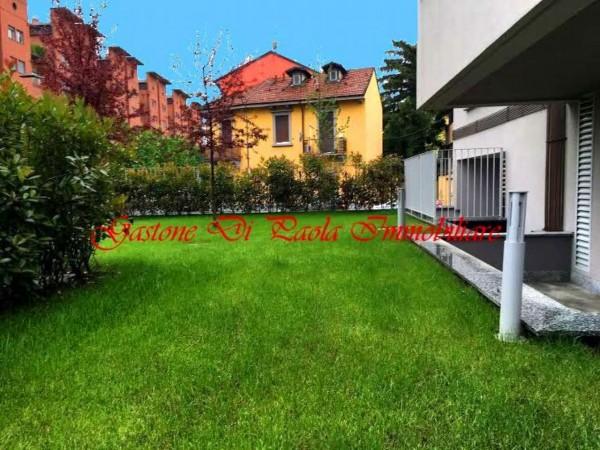 Appartamento in vendita a Milano, Precotto, Con giardino, 108 mq - Foto 19