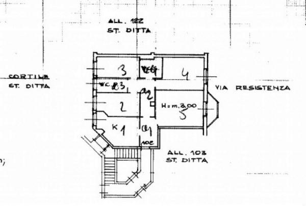 Appartamento in vendita a Opera, Con giardino, 125 mq - Foto 3